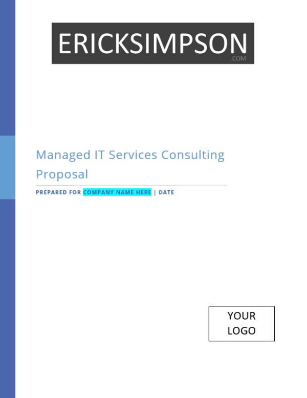 Erick Simpson's Managed IT Services Sales Proposal