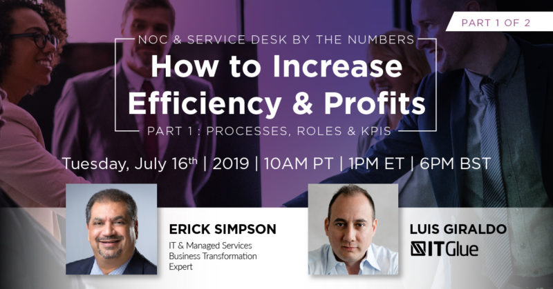 Erick Simpson's Increase Service Efficiencies & Profits Webinar