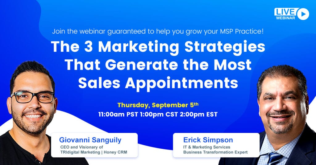 3 Marketing Strategies That Set The Most Sales Appointments